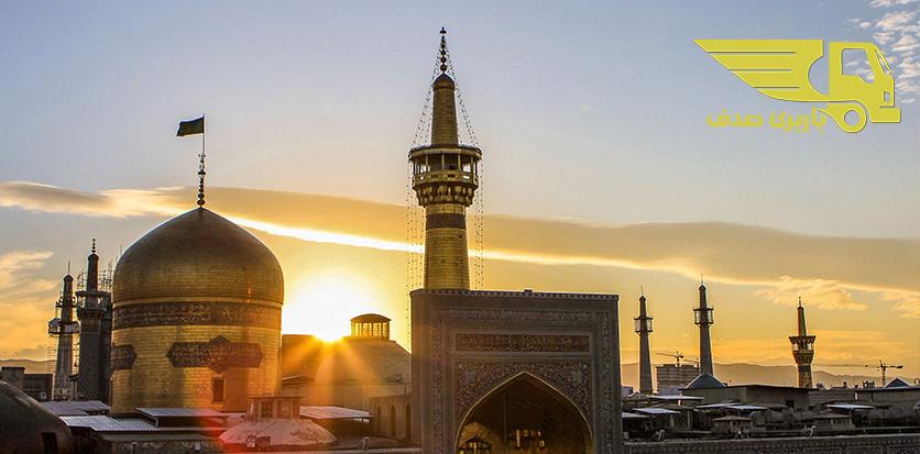 باربری درون شهری مشهد